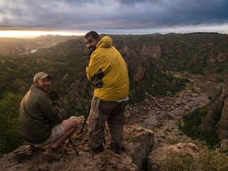 Wilderness Photography Course Setting Up Shots Over The Canyon