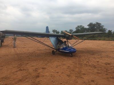 Will On A Microlight Flight
