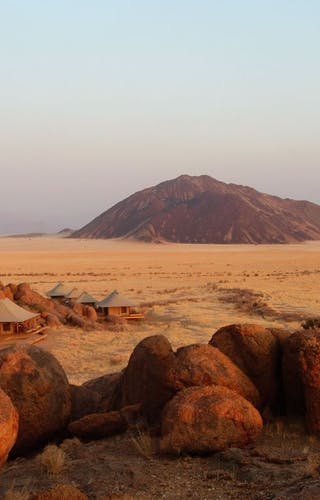 Wolwedans Boulders Safari Camp Overview