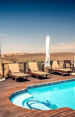 Xaus Lodge Swimming Pool
