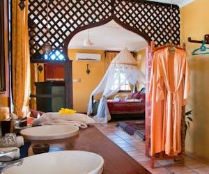Zanzibar Palace Hotel Bedroom
