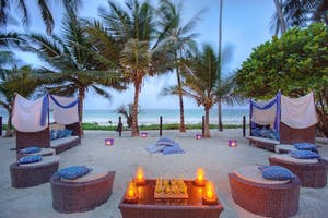 Cocktails On  Diani  Beach At  Almanara  Luxury  Boutique  Hotel  Villas