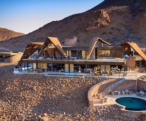 And Beyond Sossusvlei Desert Lodge Main View