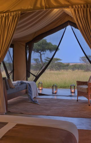 Naboisho Camp Guest Tent