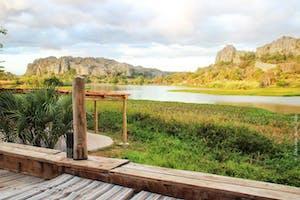Balcony  Iharana  Bush  Camp Ecolodge Ankarana Madagascar