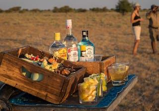 Botswana Kalahari Plains Camp Sundowners