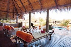 Camp Kalahari Lounge Decking