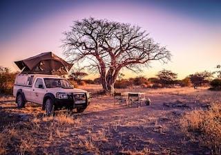 Camping In Makgadigadi