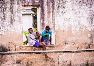 Children Sao Tome