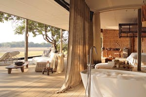 Chinzombo Camp Bedroom
