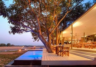 Chinzombo  Camp Dining Area