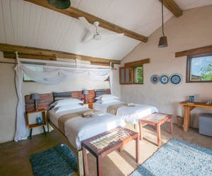 Chobe Elephant Camp Twin Room