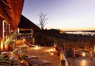 Ngoma Safari Lodge Main Deck