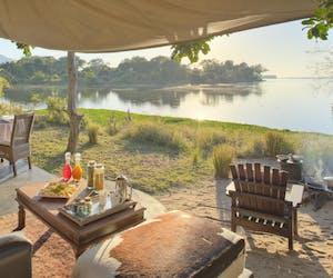 Chongwe River Camp Lounge View