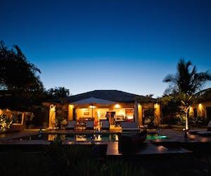 Night Time At Chuiba Bay Lodge In Pemba