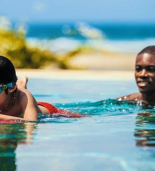 Alfajiri Villas Children Swimming