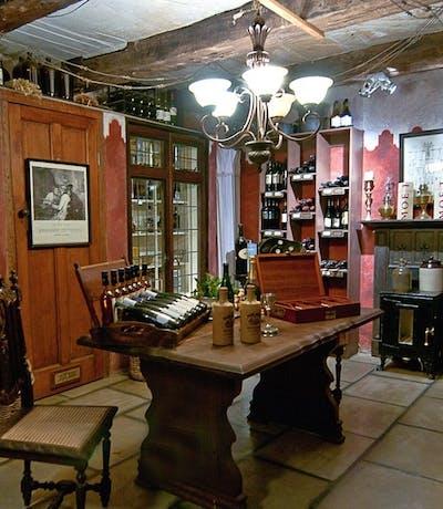 Cleopatra Mountain Farmhouse Wine Cellar