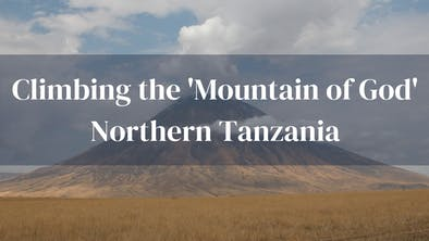 Climing The Mountain Of God Tanzania