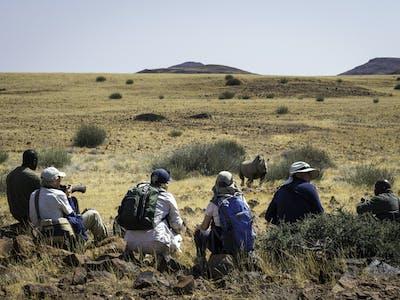 Desert  Rhino  Camp Walking Safari