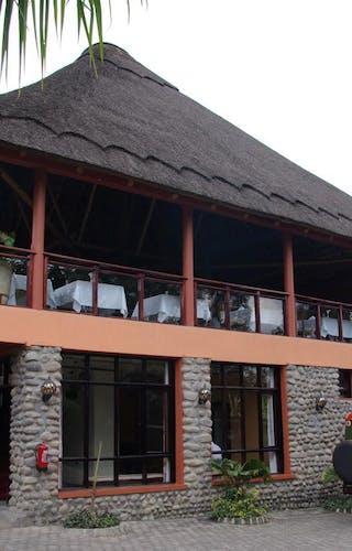 Five Volcanoes Hotel Entrance