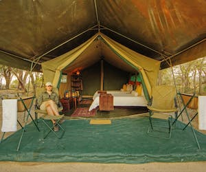 Footsteps Across The Delta Ensuite Tent