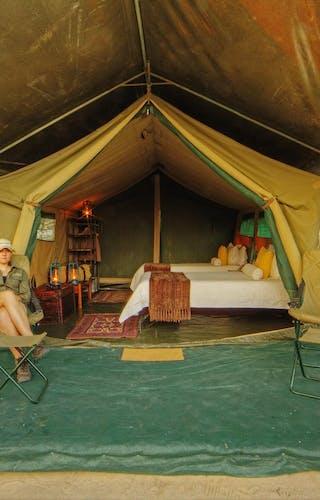Footsteps Across The Delta Ensuite Tent
