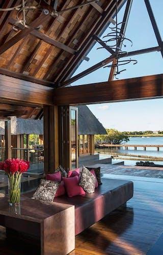 Four Seasons Mauritius Lobby