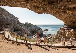 Grootbos  Garden  Lodge Cave Tour