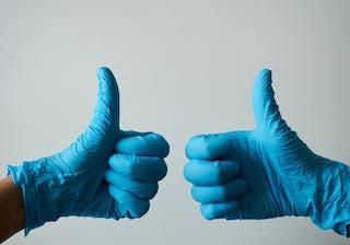Healthy Thumbs Up
