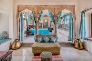 Chanoud  Garh  Bedroom