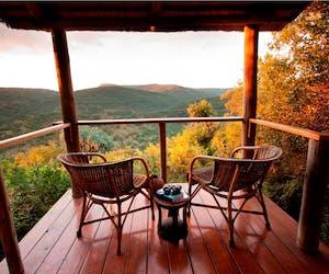 Isibindi Zulu Lodge Veranda View