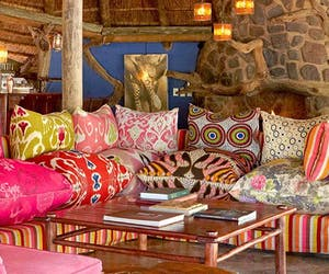 Jacis Safari Lodge Lounge