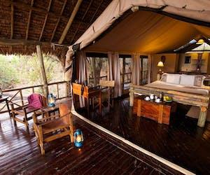 Katavi Wildlife Camp Veranda