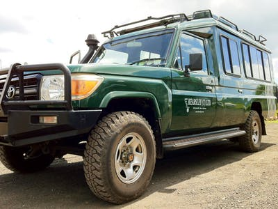 Kearsley Safari Vehicle