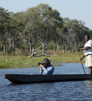 Khwai Tented Camp Moremi Reserve Botswana Mokoro Safari 541