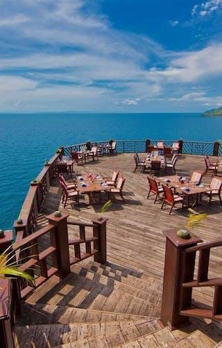Kigoma Hilltop Dining Terrace