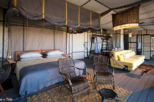King Lewanika Camp Bedroom