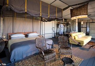 King Lewanika Camp Bedroom