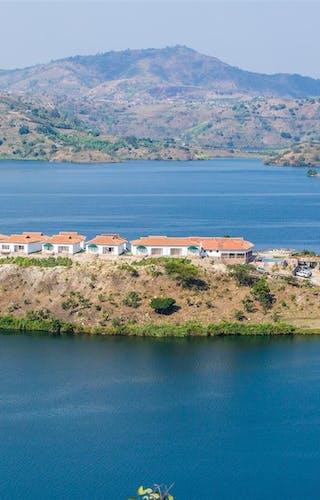 Kivu Lodge Aerial