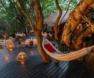 Kosi Forest Lodge Veranda