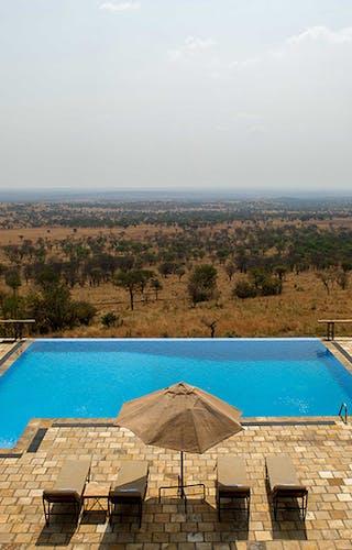 Infinity Pool At Kubu Kubu Tented Lodge