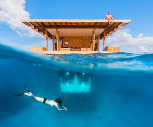 The Manta Resort Underwater Room