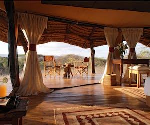 Lewa  Safari  Camp  Tent  Interior