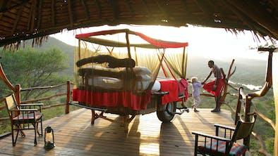 Loisaba Star Beds Little Girl Samburu Guide