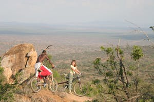 Loisaba  Tented  Camp  Mountain Biking