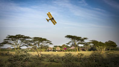 Segera Lodge Biplane