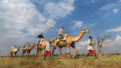 Sosian Lodge Safari Camel Riding