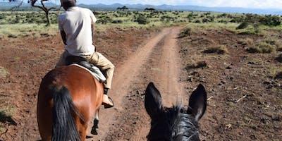 Horse Riding Lewa Wildlife Conservancy Kimberley Champagne