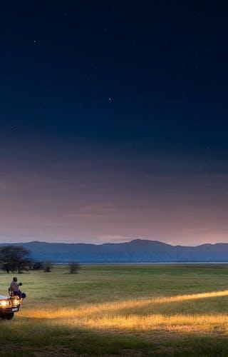 Lake Manyara Night Drive