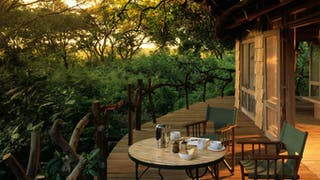 Lake Manyara Tree Lodge Balcony